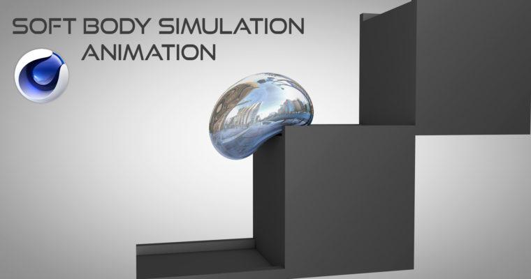 CINEMA 4D 4D SOFT BODY SIMULATION & ANIMATION TUTORIAL