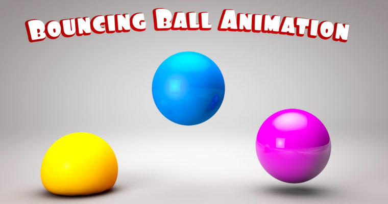 Cinema 4D Tutorial Bouncing Ball Animation