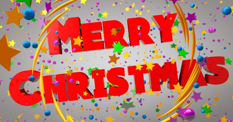 C4D Merry Christmas Graphics – Cinema 4D Motion Graphics