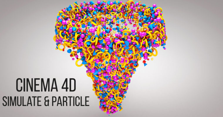 Cinema 4D Tutorial – Simulate & Particle Animation Tutorial