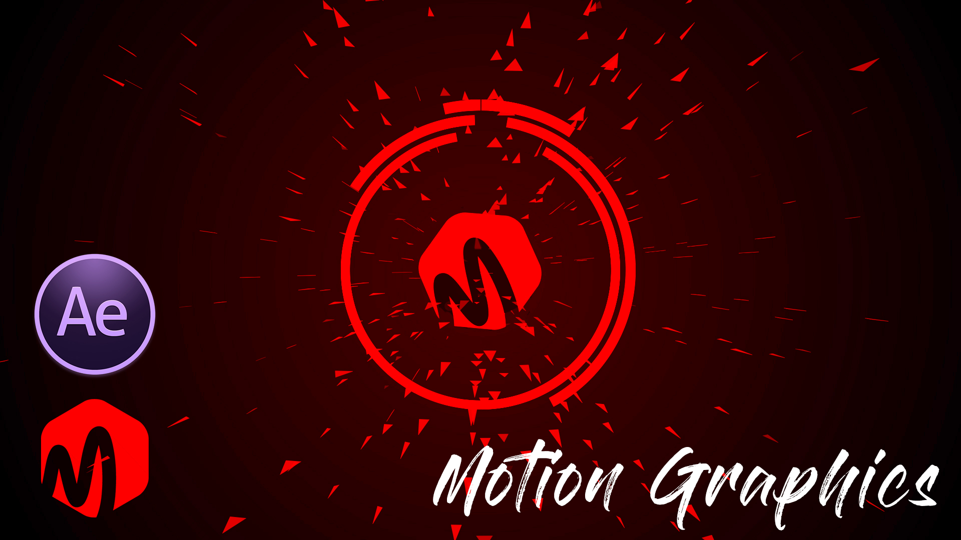 After Effects Motion Graphic Logo Animation