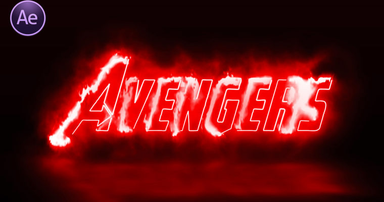 Avengers Logo Animation in After Effect   After Effect Movie Logo Animation Tutorial