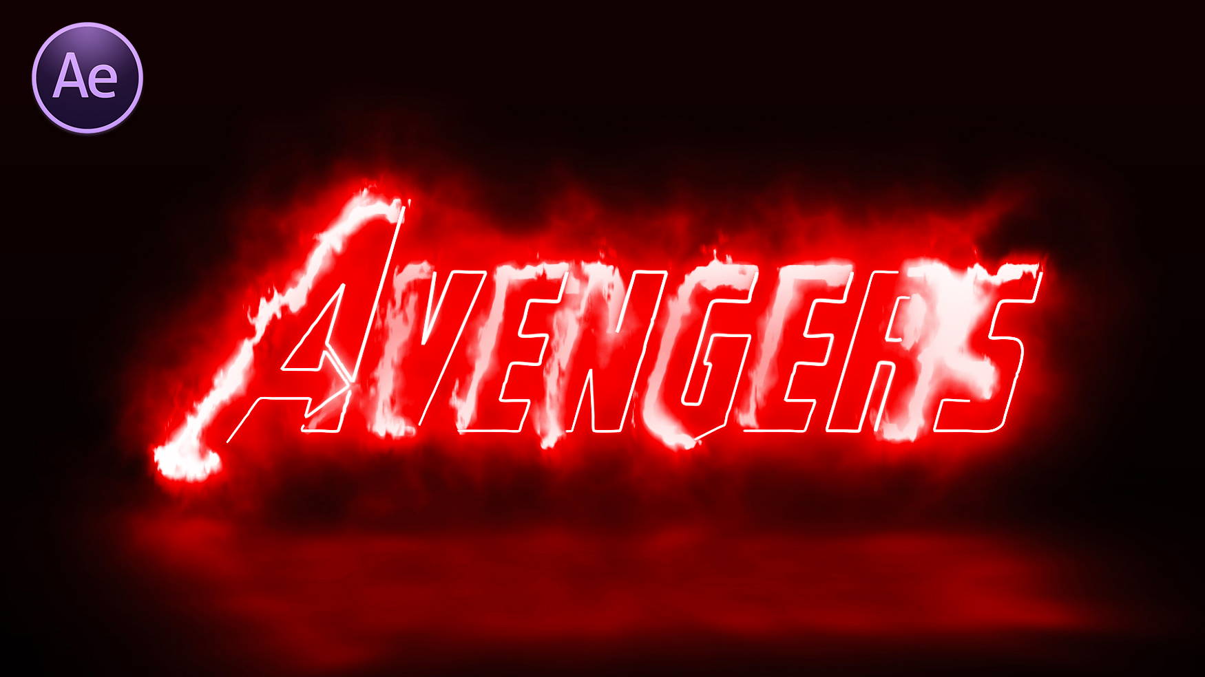 Avengers Logo Animation in After Effect | After Effect Movie Logo Animation Tutorial