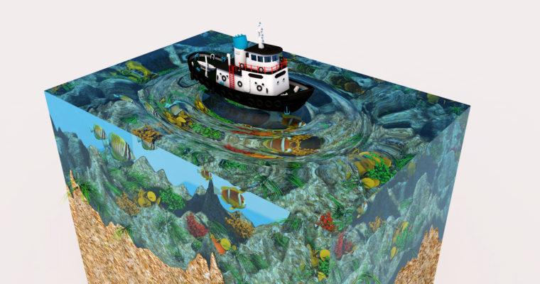C4D Tutorial – Create  Aquarium Modeling | Cinema 4D Water Material