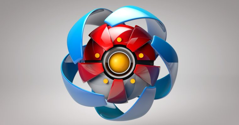 C4D Tutorial For Beginner – Create 3D Pokeball