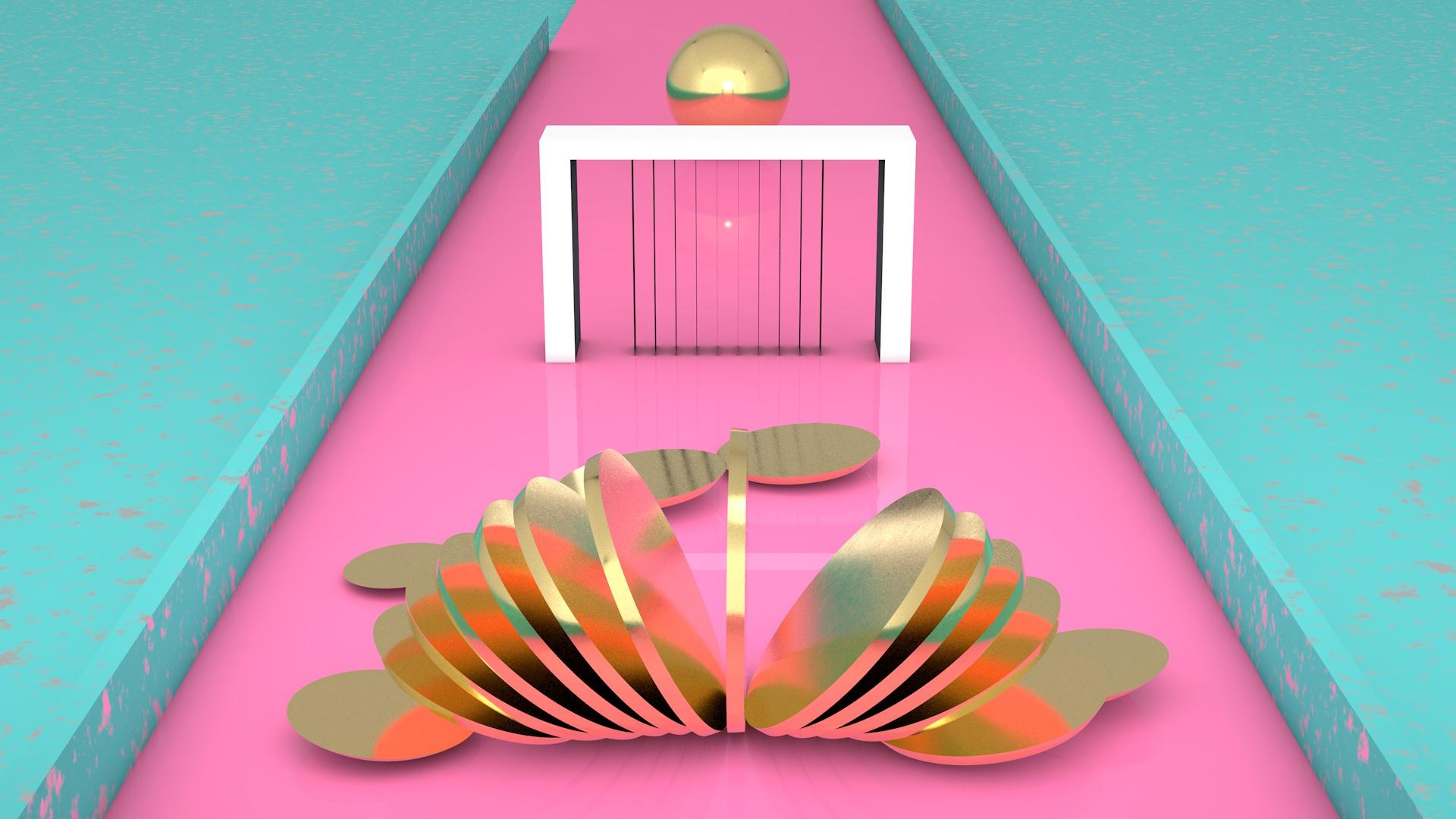 Cinema 4D – Slice Loop Animation