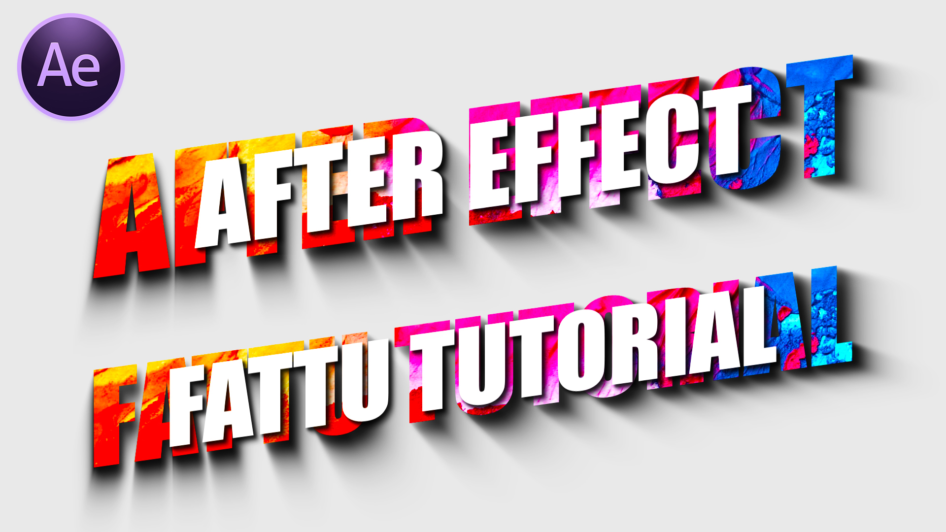 After Effects Tutorial – Creative Text Animation in After Effects – Free Template