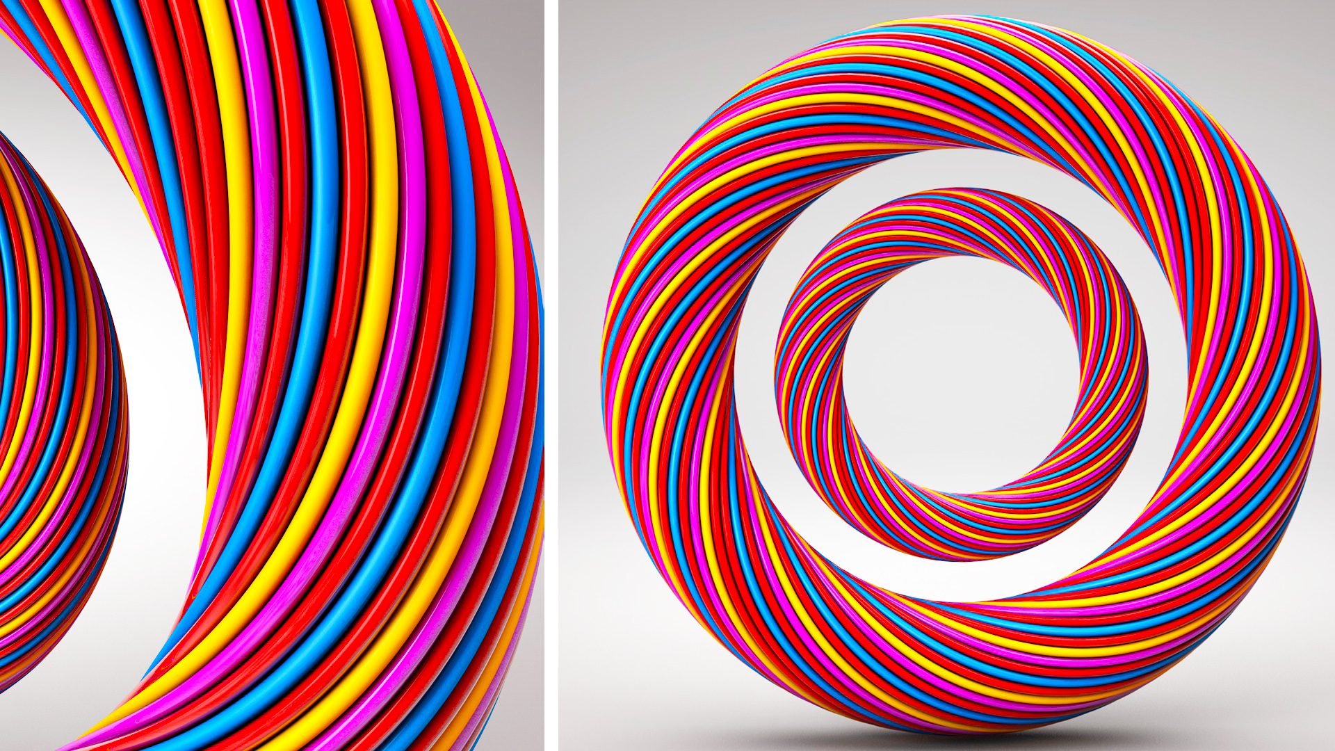 Cinema 4D Tutorial – Abstract Ring
