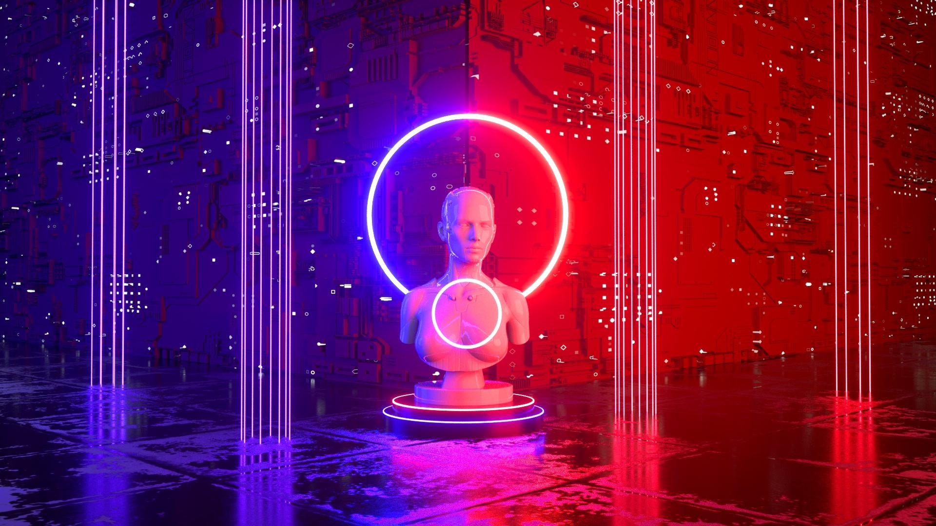 Cinema 4D Octane Beginner Tutorial – Create Sci-Fi Scene